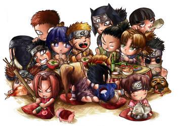 Lunch Party by TSHORYUKEN