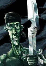 The pirate zombie by MarKomik