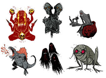 creatures by MarKomik