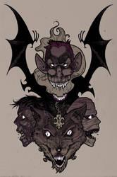 Horror totem by MarKomik