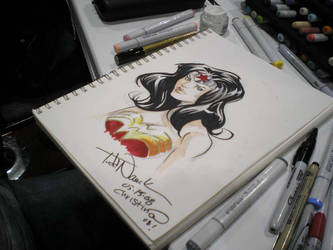 Wizard World LA Wonder Woman by CeeCeeLuvins