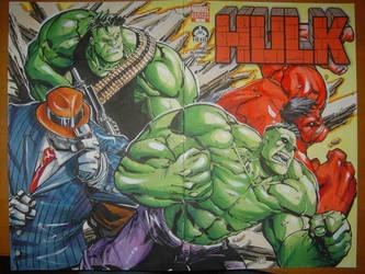 Hero Initiative Charity Hulk by CeeCeeLuvins