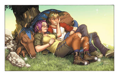 Gertrude and Chase by CeeCeeLuvins
