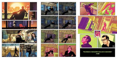 Three page Phonogram story by CeeCeeLuvins