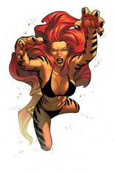 Avengers Initiative Tigra cove by CeeCeeLuvins