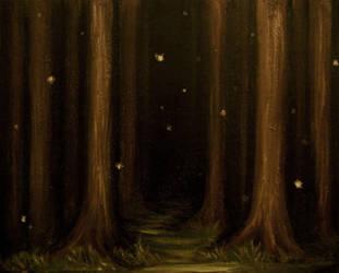 In a Dark Dark Wood by herbalcell