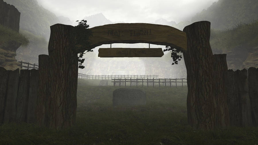 Ocarina of Time graveyard at dawn by herbalcell