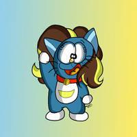 Bright Idea as a Doraemon by DoraeArtDreams-Aspy