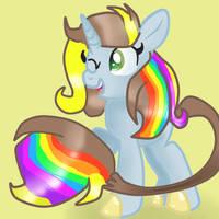 Lightning Bliss and Bright Idea Fusion by DoraeArtDreams-Aspy