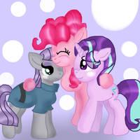 Pinkie Ships MaudLight by DoraeArtDreams-Aspy