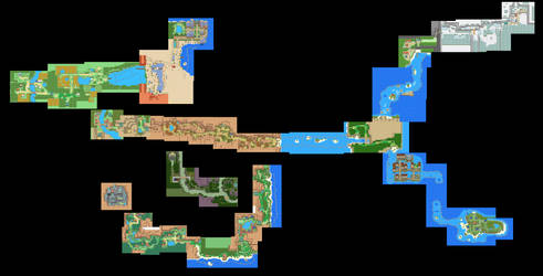 Tandor MEGA map (wip). by JV12345