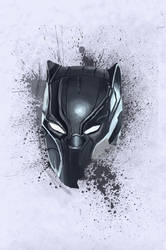 Mask: Black Panther by oliviou-krakus
