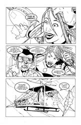 The Battle Of Blood And Ink First Page by agenthush