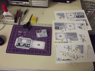 SULACO  1:430 scale  papercraft project by steveeasye187