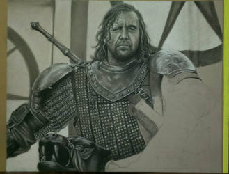The Hound WIP II by robdolbs