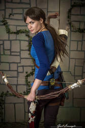 Rise of the tomb raider - Blue Henley by Tyalis-photo