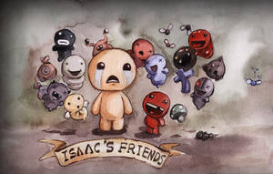 Isaac and his friends! by Faillen