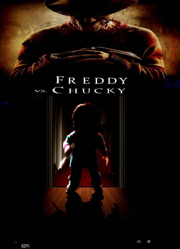 freddy vs chucky poster by steveirwinfan96 on deviantart