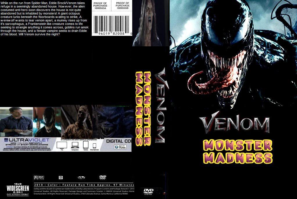 Venom Movie Dvd Cover | TV SHOWS AIRING