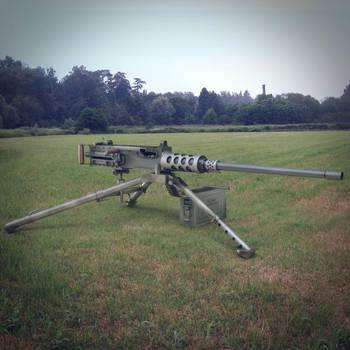 M2 Browning Machine Gun 3ds Max Model by ergin3d