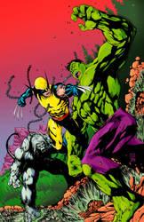 Incredible Hulk 181 Recreation by slims01