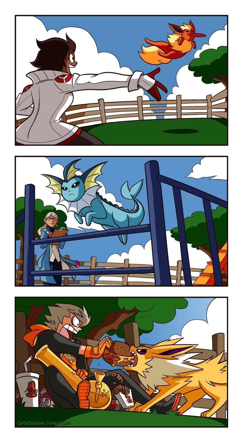 Pokemon GO - Dog Park by captainosaka