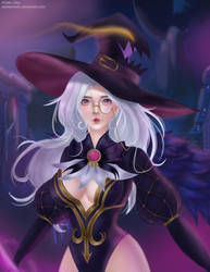 Fanart for Alice Wizardry Teacher by yellowishello