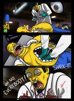 Homer Saturday Comic by SHARK-E