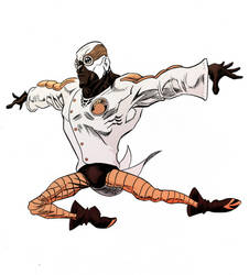 Agent Sparrow Legs by Half-Man-Half-Pencil