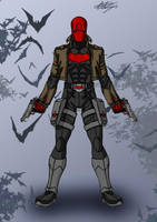 Red Hood - Jason Todd by celsohenrique