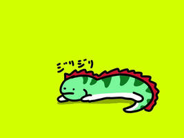 Cool lizard by kusaman