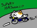 cat rider by kusaman