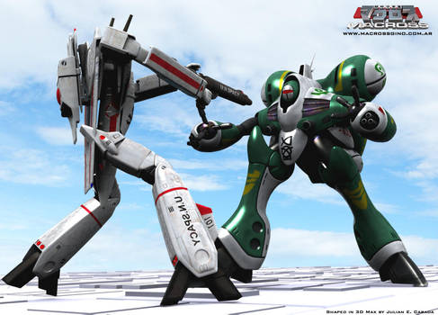 Macross live action 3d by asgard-knight