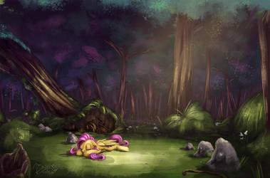 Dreamy forest by InsaneRoboCat