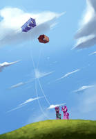 Kites by InsaneRoboCat