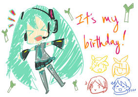 Happy Birthday to Me by hikashu