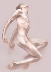 Man nude by Black-waves