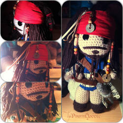 Captain Jack Sparrow Sackboy by ThePirateHobbit