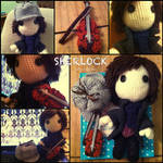 Sherlock Sackboy by ThePirateHobbit