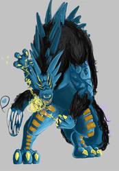 Demon concept art by Onirke