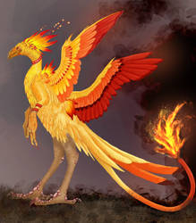 Fire Bird by Onirke