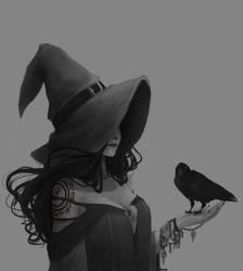 Raven by Yuri-ppe