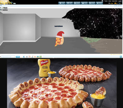 hotdog x pizza shipping baby by The-OrangeNinja