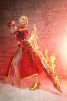 Fate/Extra CCC - Saber Nero by Dzikan