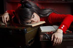 Fate/Stay Night | Tohsaka Rin Cosplay by Dzikan