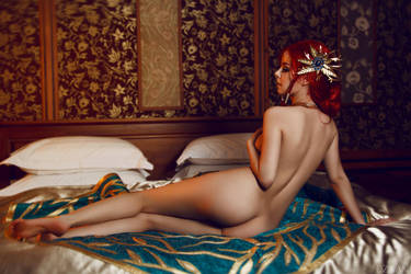 The Witcher 3  Triss Merigold cosplay by Dzikan