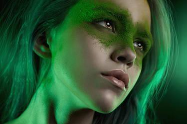 Green Lantern [Erotic Superheroes] by Dzikan