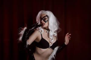 Marvel's Black Cat by Dzikan