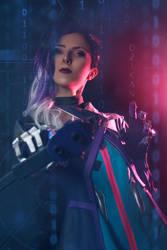 Sombra Overwatch by Dzikan