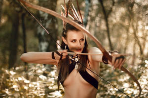 Dryad | The Witcher original cosplay by Dzikan